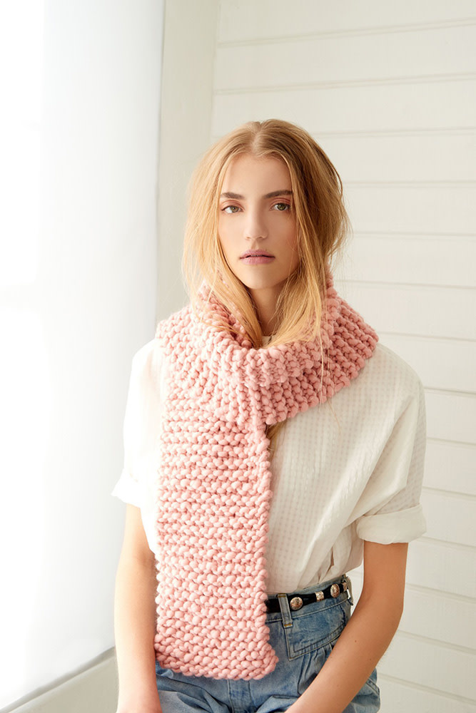 My First Scarf Kit - Pink