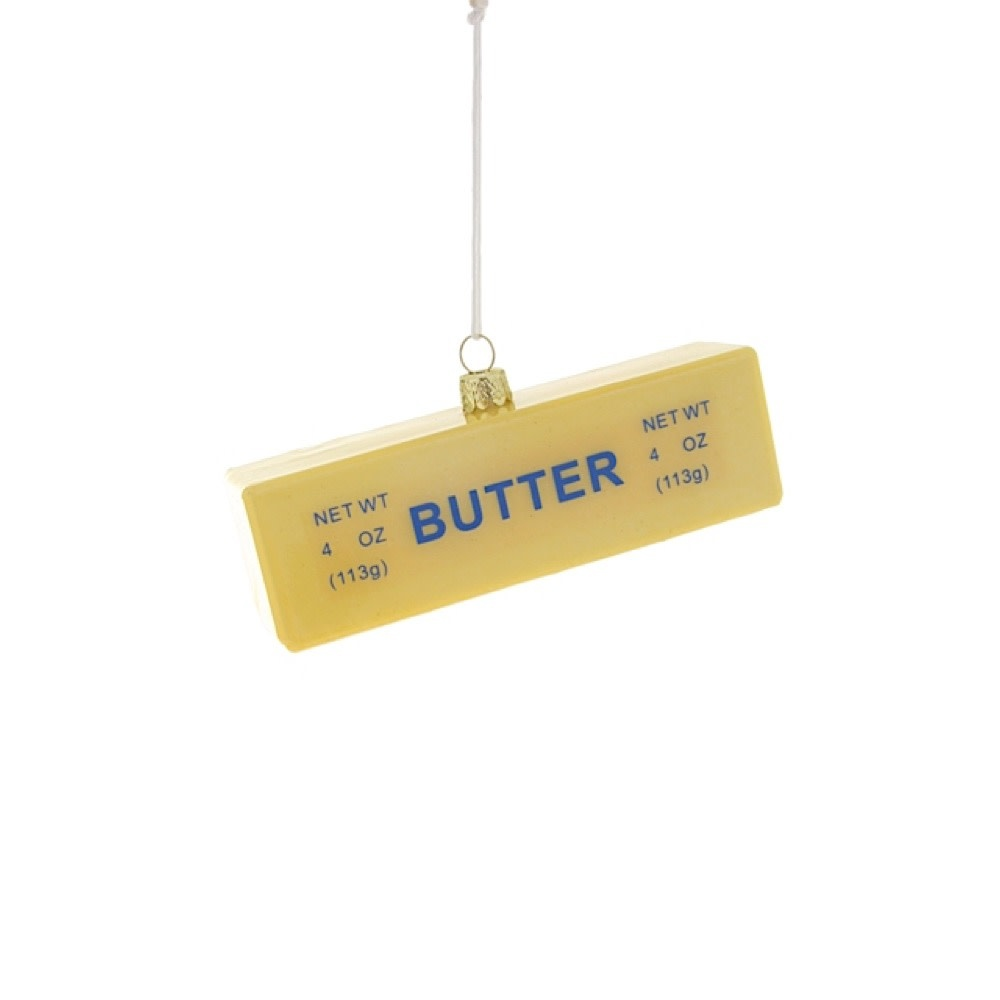 Cody Foster & Co Ornament - Stick of Butter