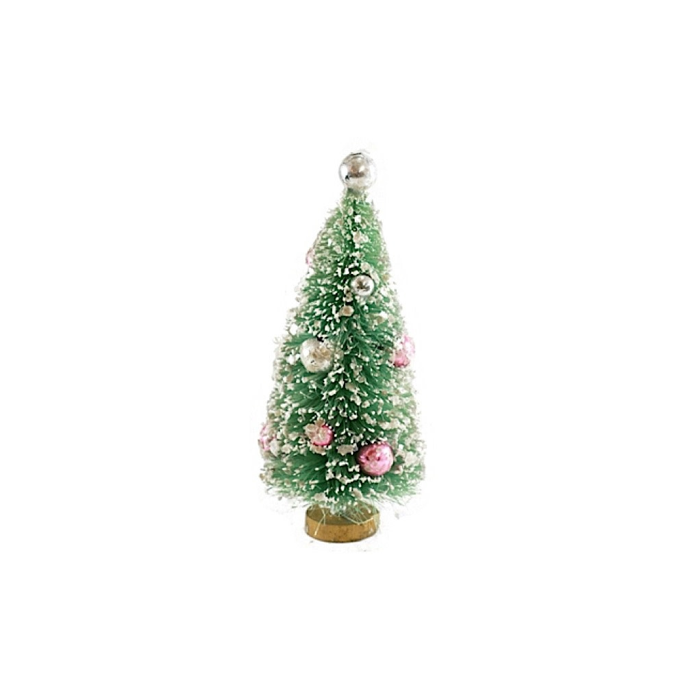 Bottle Brush Tree - Mint Green