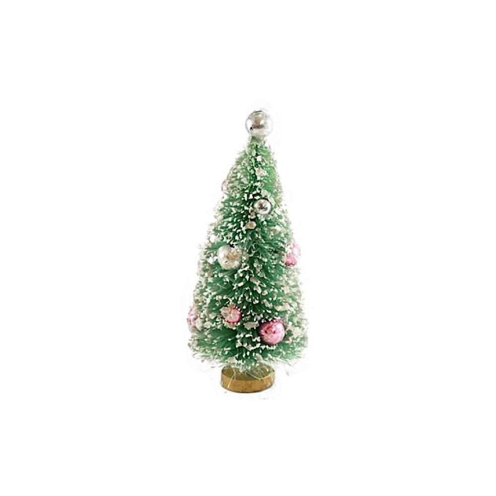 Cody Foster & Co Bottle Brush Tree - Mint Green