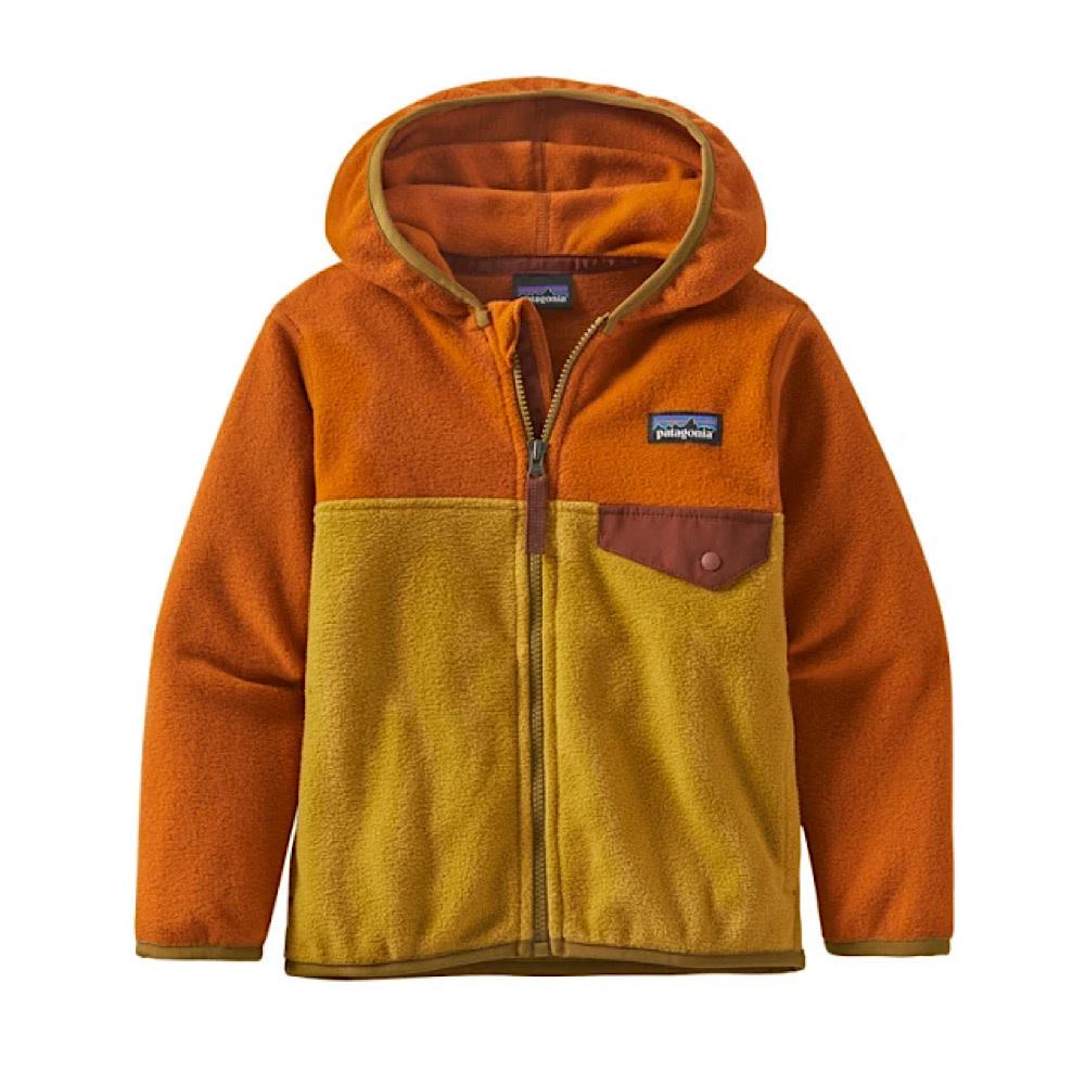 Patagonia Baby Micro D Snap-T Jacket - Buckwheat/Gold