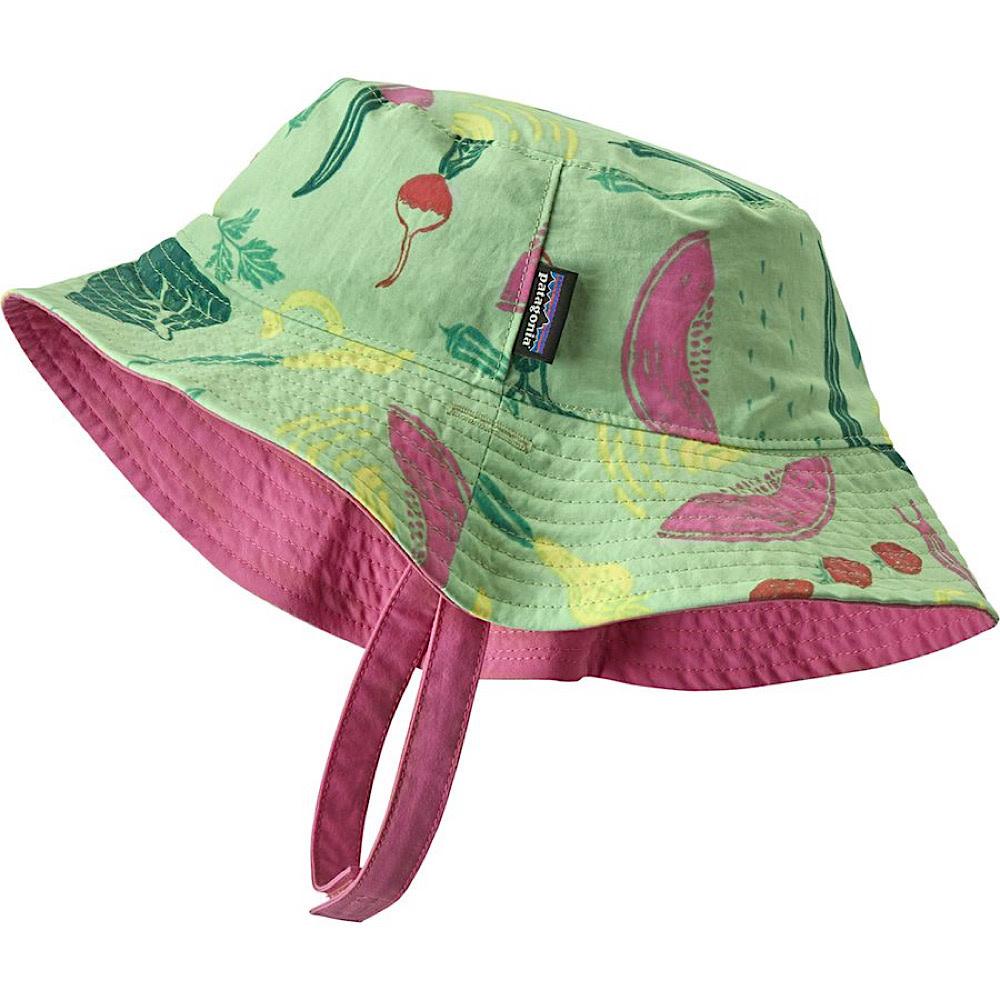 Patagonia Sun Baby Bucket Hat - Southern Farm Basket Bud Green