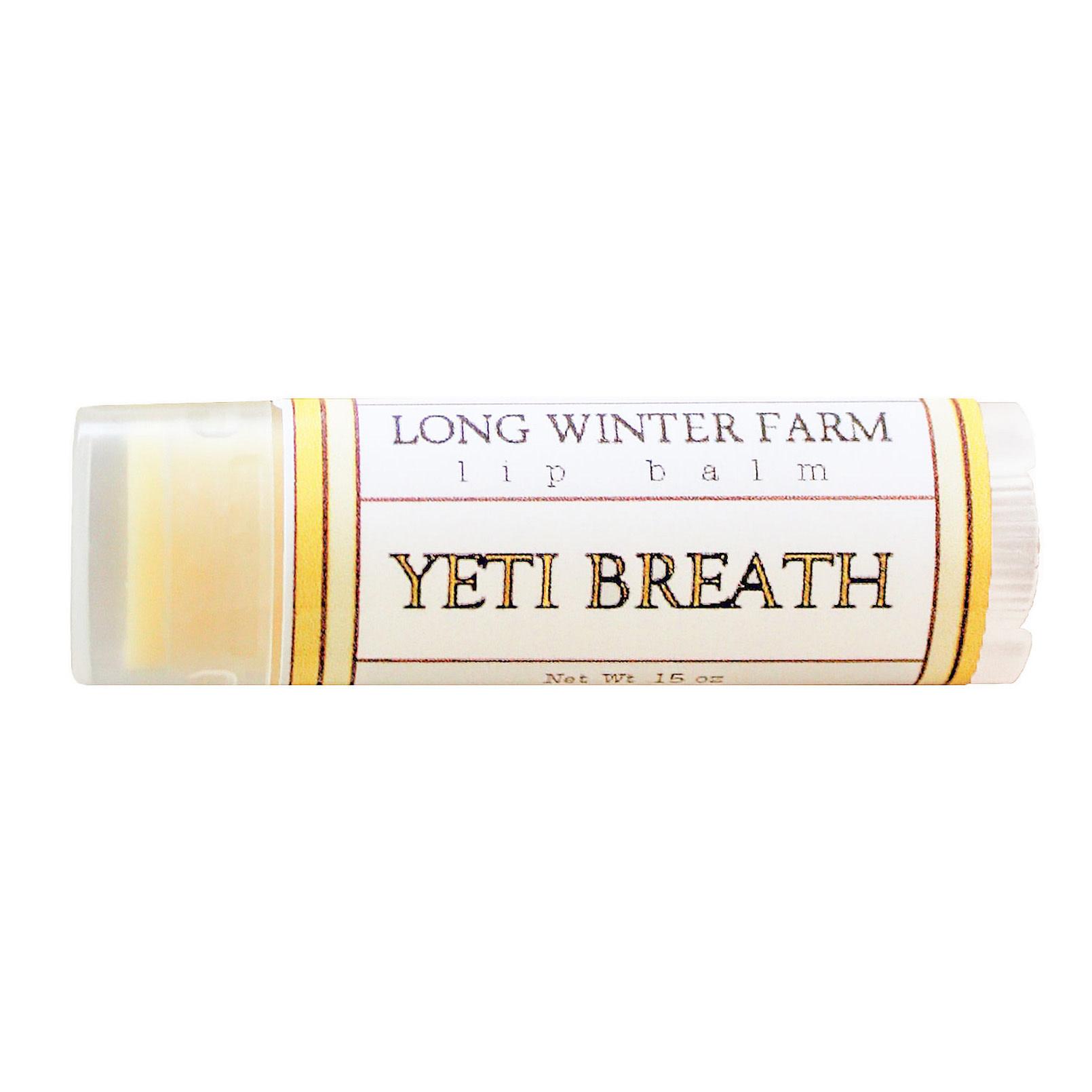 Long Winter Farm Lip Balm - Yeti Breath