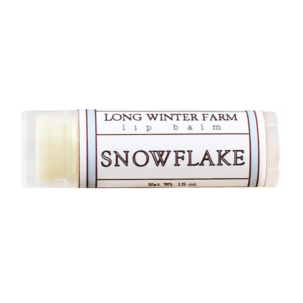 Long Winter Farm Lip Balm - Snowflake