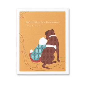 Compendium Birthday Card - You're Terrific...