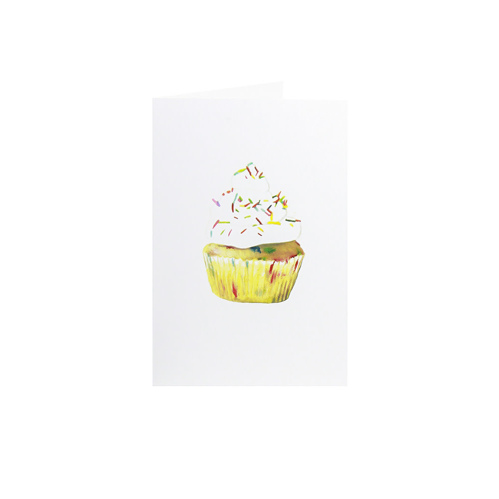 Happy Cooking Cards Happy Cooking Cards - Recipe Card - Confetti Cupcake