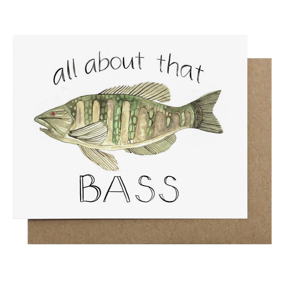 Kate Martens Kate Martens Card - All About That Bass