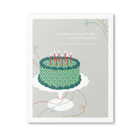 Compendium Birthday Card - A Multitude of Small...