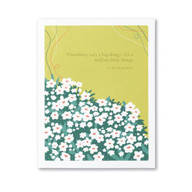 Compendium Love & Friendship Card - Friendship Isn't A Big Thing