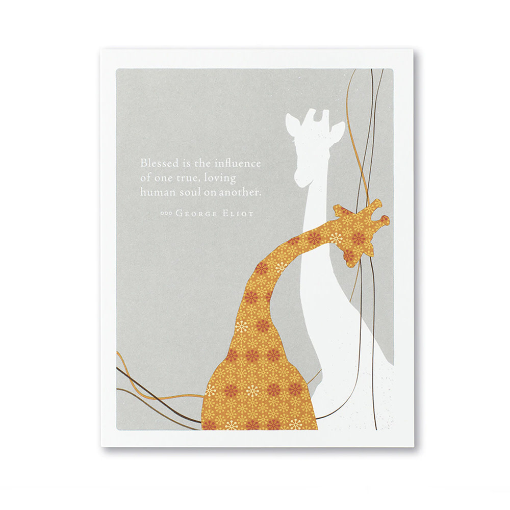 Friendship Card - Blessed Is the Influence