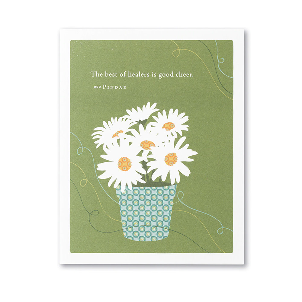 Get Well Card - The Best of Healers is Good Cheer