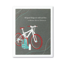 Compendium Birthday Card - All Good Things Are Wild and Free