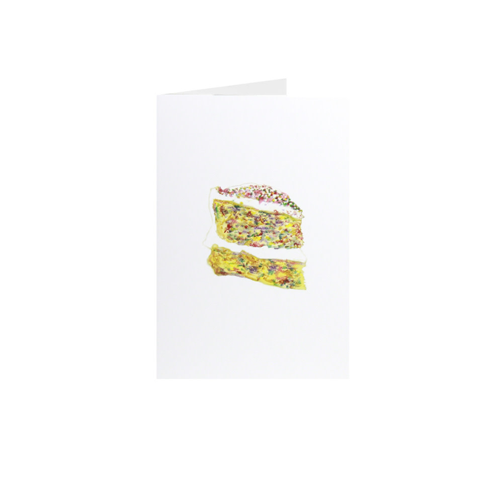 Happy Cooking Cards Happy Cooking Cards - Recipe Card - Confetti Cake