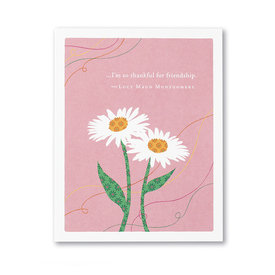 Compendium Love & Friendship Card - I'm So Thankful For Friendship