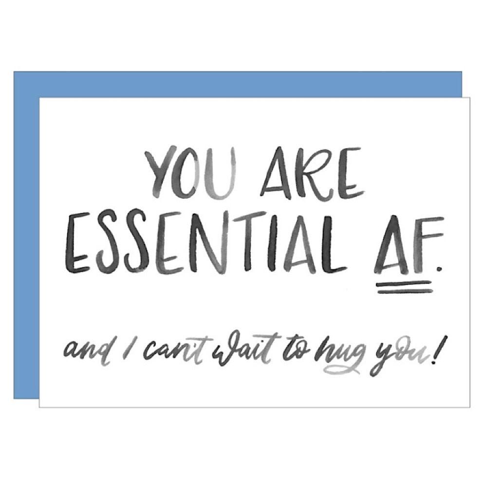 Katie Elizabeth Lettering + Design Katie Elizabeth Card - Essential AF