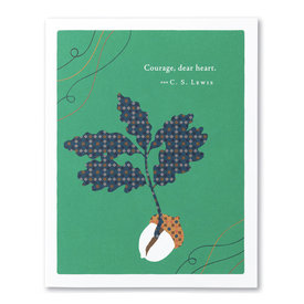 Compendium Encouragement Card - Courage Dear Heart