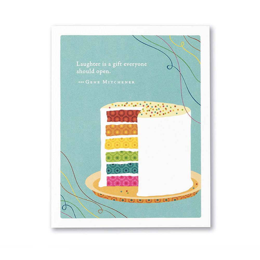 Compendium Birthday Card - Enjoy the Surprises of Today