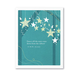Compendium Birthday Card - Dance till the stars come down from the rafters!