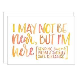 Katie Elizabeth Lettering + Design Katie Elizabeth Card - Near Here