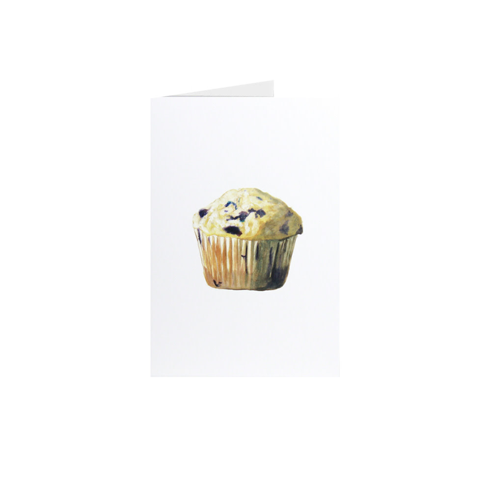 Happy Cooking Cards Happy Cooking Cards - Recipe Card - Blueberry Muffin