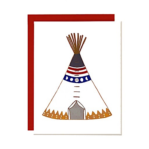 Girl Chewing Gum Girl Chewing Gum Card - Teepee