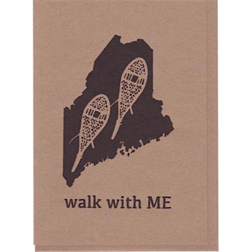 ThinkGreene Walk With ME Card - Brown