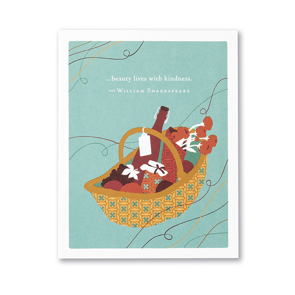 Picnic Card - …Beauty Lives with Kindness