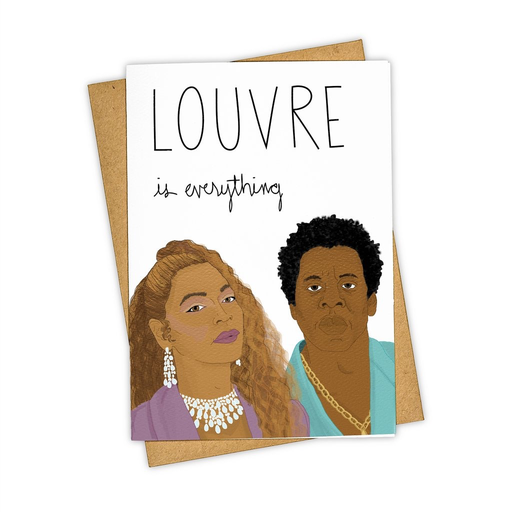 Tay Ham Louvre Is Everything Card