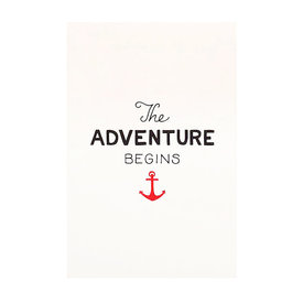 Scouts Honor Scout's Honor Co. Print - The Adventure Begins - 5x7