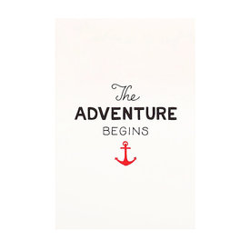 Scouts Honor Scout's Honor Co. Print - Adventure Begins - 8x10