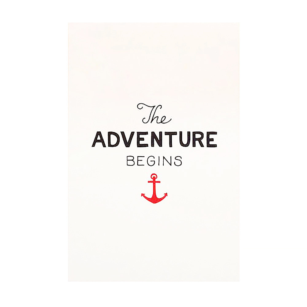 Scout's Honor Co. Print - Adventure Begins - 8x10