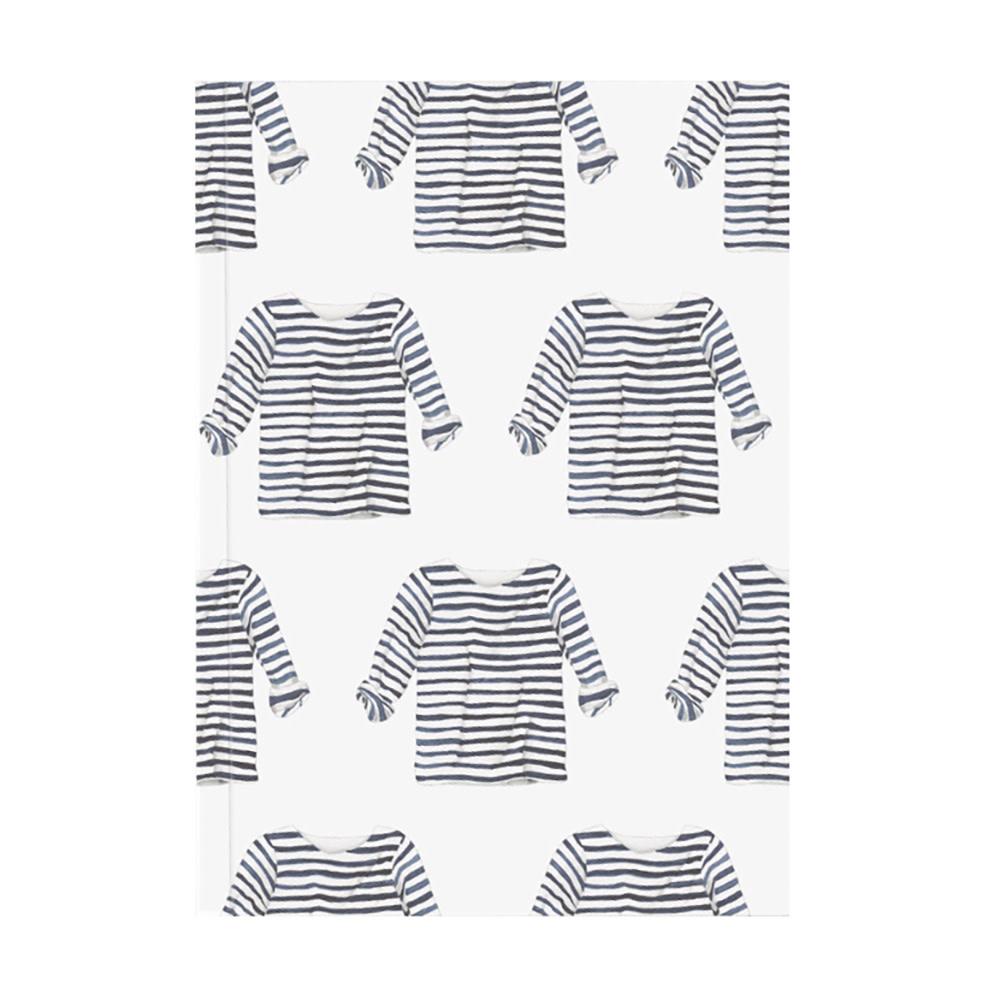Sara Fitz Journal - Striped Shirt