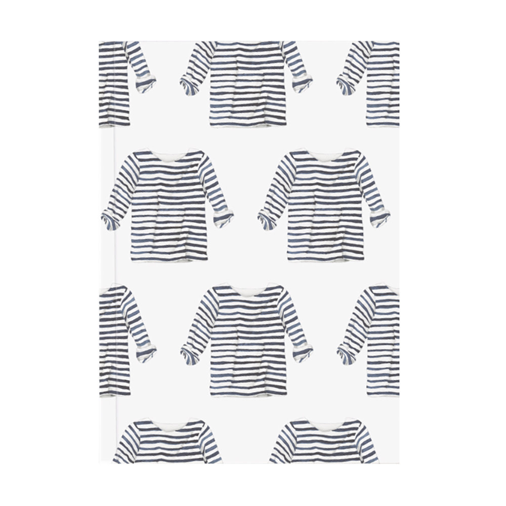 Sara Fitz Sara Fitz Journal - Striped Shirt