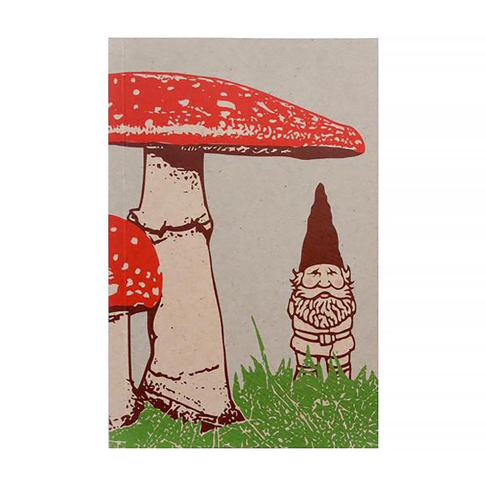 Little Lark Gnome Mushroom Journal