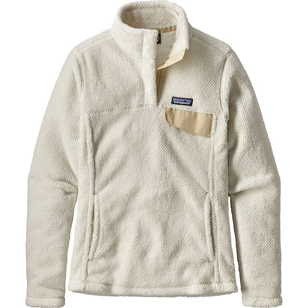 Patagonia Patagonia Womens Re-Tool Snap-T Pullover - Raw Linen White X-Dye