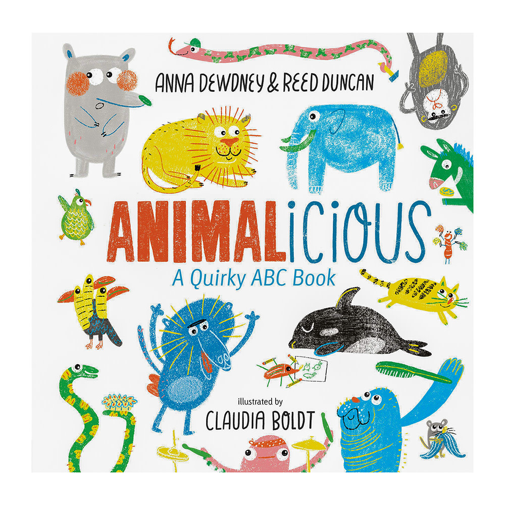 Chart Metalworks Animalicious A Silly ABC Book