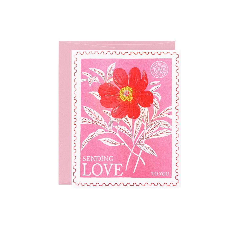 Oana Befort Card - Sending Love
