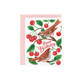 Oana Befort Oana Befort Card - Cherry Thieves Birthday