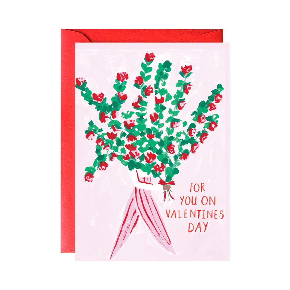 Mr. Boddington's Studio Bouquet For You Valentine Card