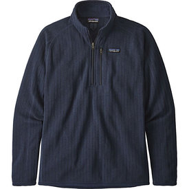 Patagonia Patagonia Mens Better Sweater Rib Knit 1/4 Knit - New Navy Rib Knit