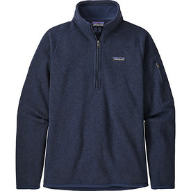 Patagonia Patagonia Womens Better Sweater 1/4 Zip - New Navy