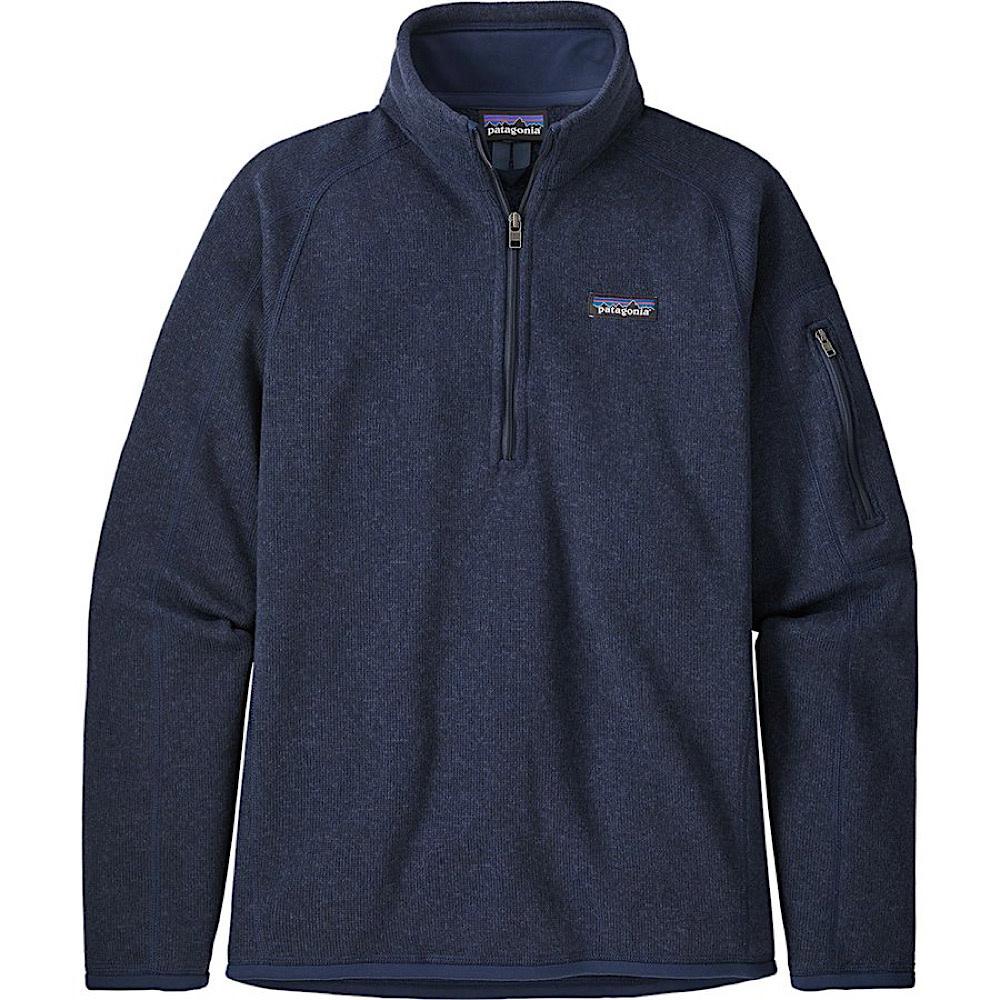 Patagonia Womens Better Sweater 1/4 Zip - New Navy
