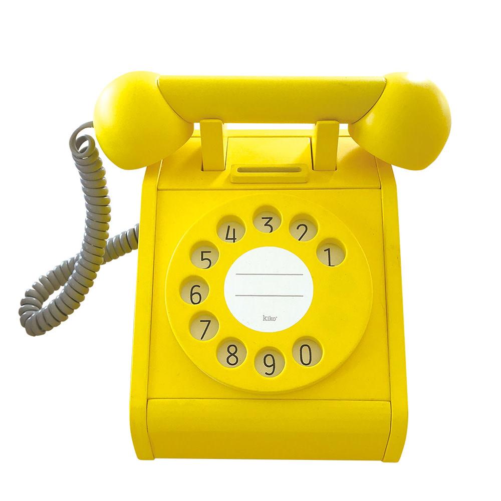 Kiko+ & gg* Toy Telephone - Yellow