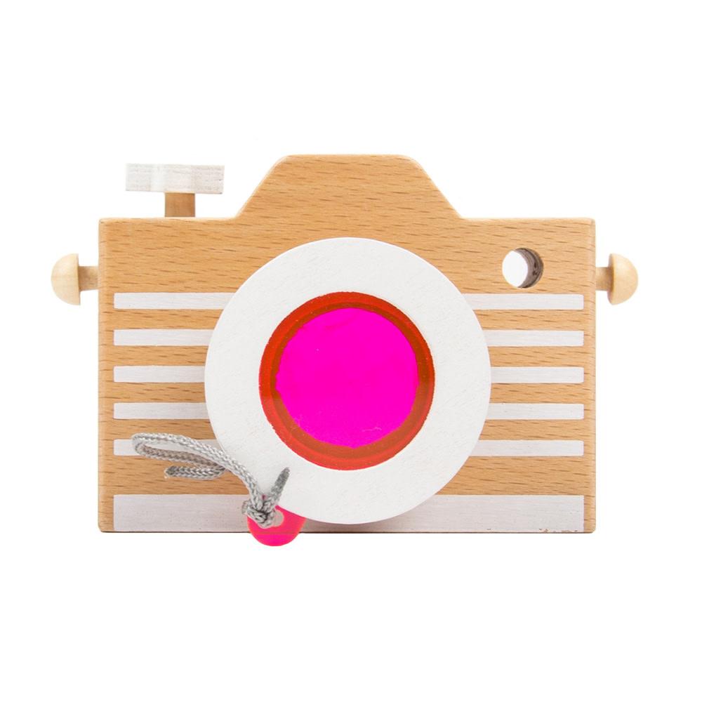Kiko+ & gg* Kaleidoscope Toy Camera - Pink