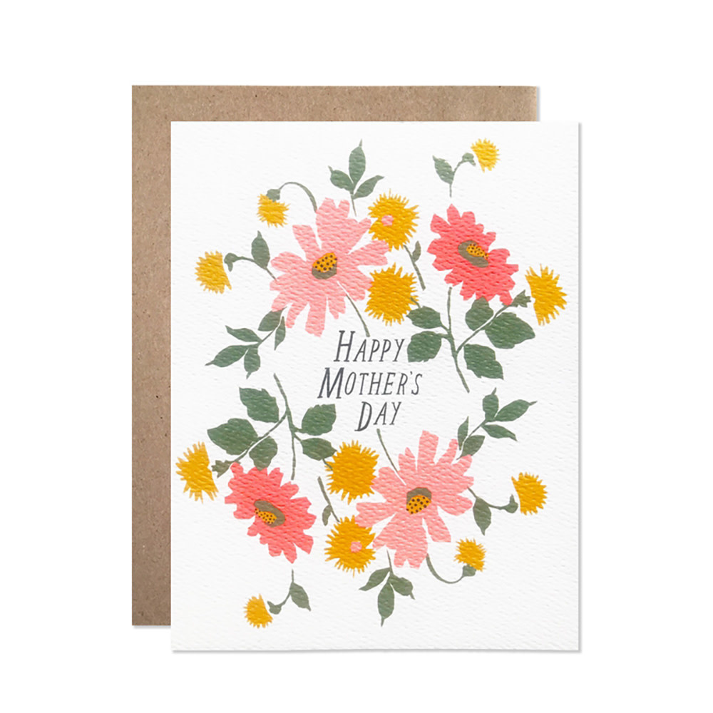 Hartland Brooklyn Card - Mother's Day Bouquet