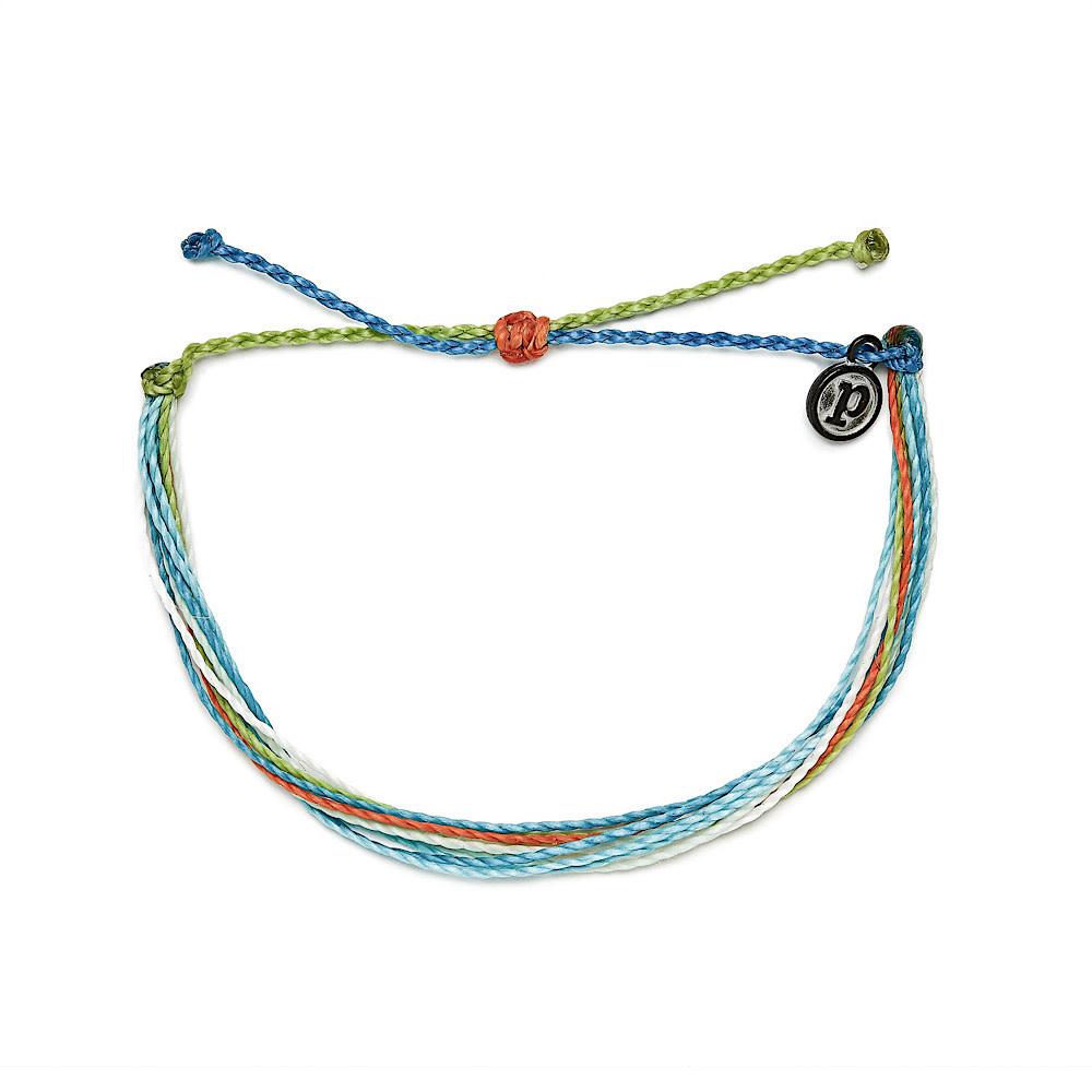 Pura Vida Original Bracelet - Charity Coral Reef Alliance