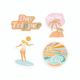 Pura Vida Pura Vida Sticker Set - Playa