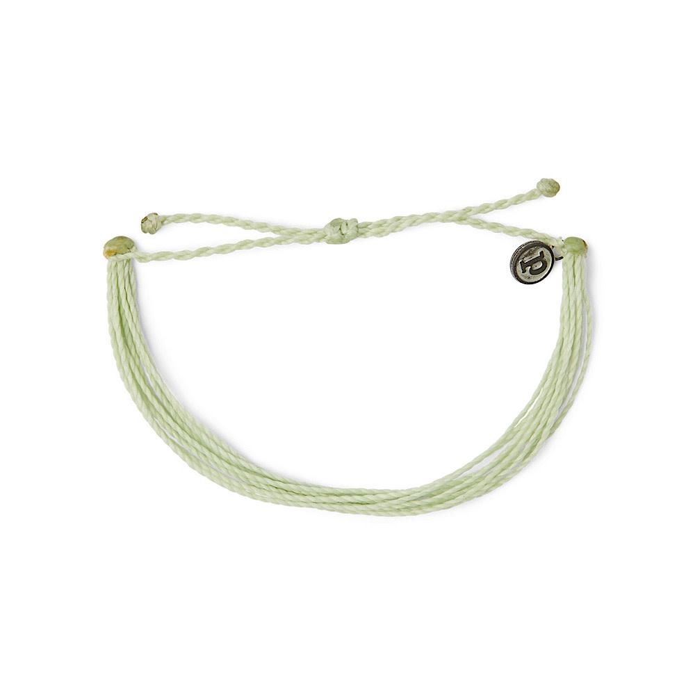 Pura Vida Pura Vida Original Bracelet - Classic Mint Solid