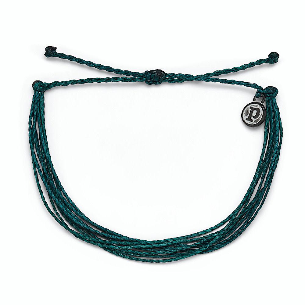 Pura Vida Original Bracelet - Classic Teal Solid
