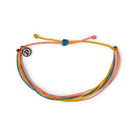 Pura Vida Pura Vida Original Bracelet - Classic Multi Neon Popsicle